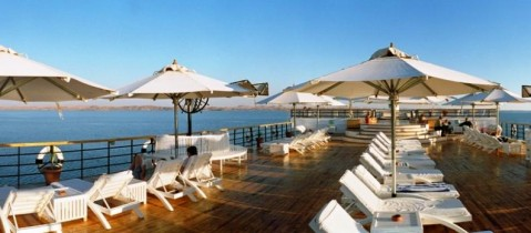 Kasr Ibrim Deck - Lake Nasser Cruises